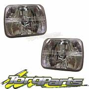 "PAIR HEADLIGHTS SUIT TOYOTA TOWNACE 7""X5"" SEMI SEALED CRYSTAL 92- Bayswater Knox Area Preview"