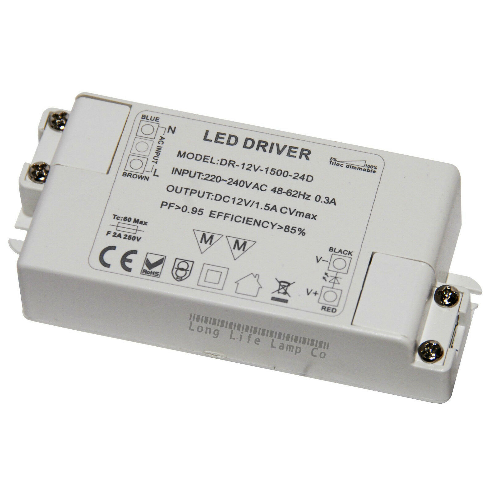 Mr16 Led Transformer Bunnings: Dimmable LED Driver Power Supply Transformer 240V-DC12V