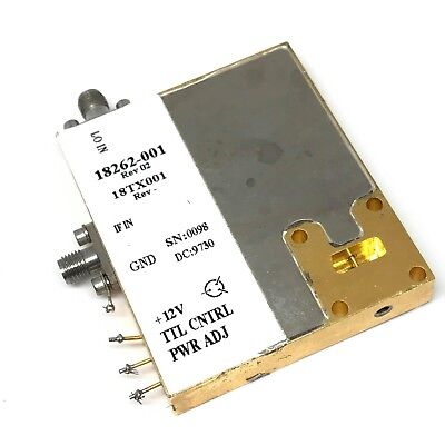 12v 18262-001 Up Converter If Lo Sma Wr-42 Radio Link