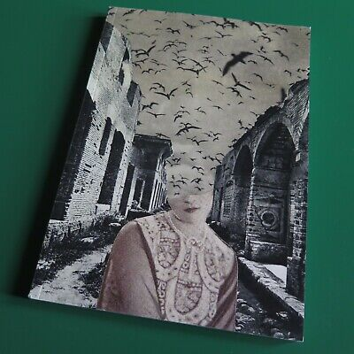 ojeRum / øjeRum - Needleshaped Silence / collage art book SOLD OUT
