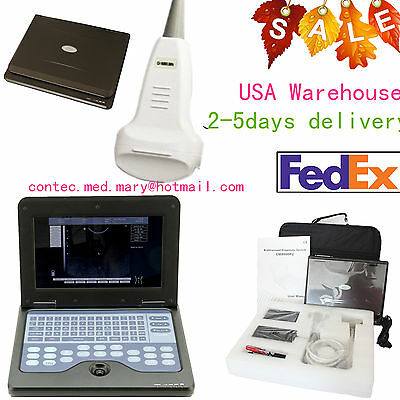 Portable Laptop Machine Convex Probe Full Digital Ultrasound Scanner Cms600p2 Us