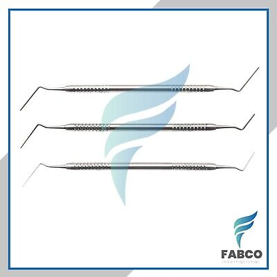 Root Canal Pluggers 13 57 911 Double Ended Endodontic Instruments Set Of 3