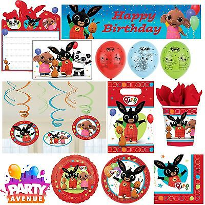 - Bing Bunny Childrens Birthday Party Tableware, Favours, Decorations