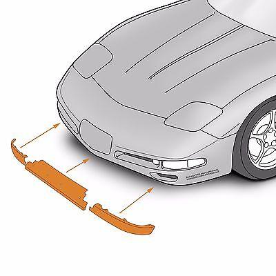 C5 Corvette Stainless Steel Rear Bumper Letter Kit Fits All 97 through 04 Corvettes