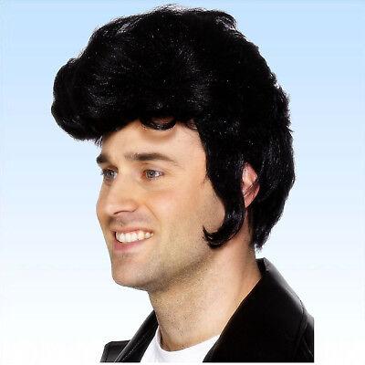 Perücke Rockstar Elvis 50`s Rock'n Roll Musik Presley Popstar VIP Prominente