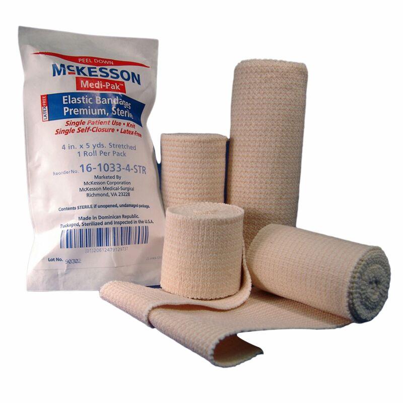 """McKesson Knit Bandage Sterile 4"""" x 5 yd 36 per Case"""