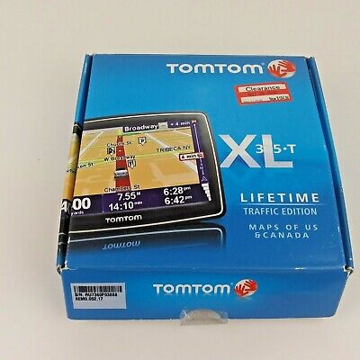 """TomTom XL 335T - US & Canada - Lifetime Traffic Edition - 4.3"""" Touchscreen GPS"""