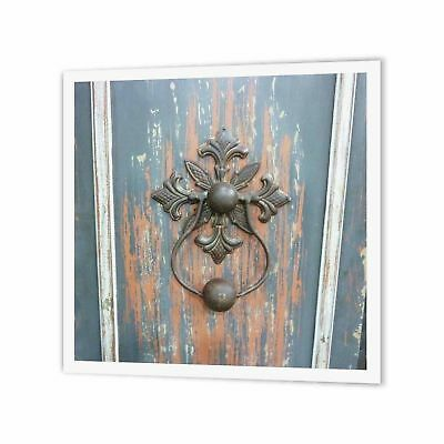 3dRose ht_61845_1 Photo of Vintage Door N Door Knocker-Iron on Heat Transfer ...