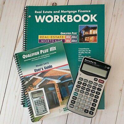 Calculated Industries Qualifier Plus Iiix Real Estate Calculator Workbook Cd