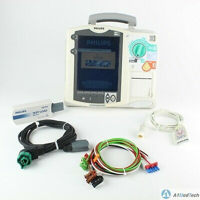 Philips Heartstart Mrx Defib With 12 Lead Ecg Aed Pacing Battery