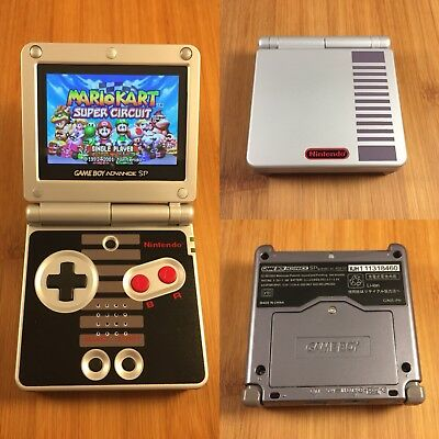 THE BEST! Nintendo Game Boy Advance SP GBA - NES Edition -AGS-101