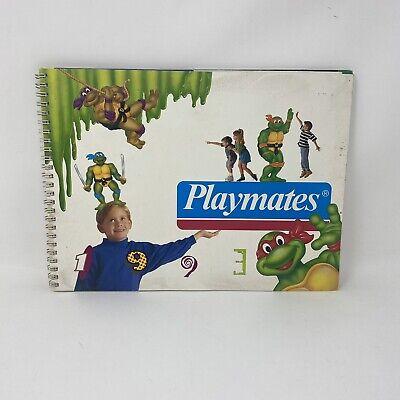 Playmates 1993 Toy Catalog TMNT Ninja Turtles Star Trek DarkWing Addams Family