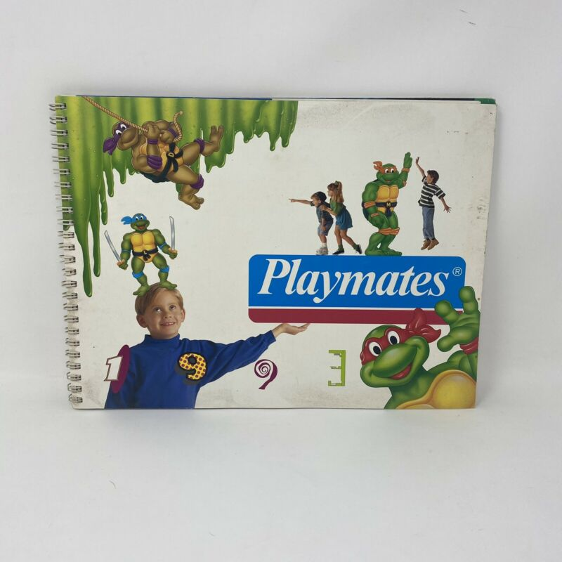 Playmates 1993 Toy Catalog TMNT Ninja Turtles Star Trek DarkWing Addams Family