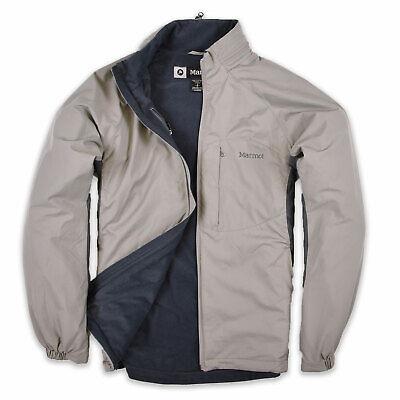 Marmot Herren Jacke Jacket Übergangsjacke Gr.S Outdoor Trekking Grau 92418