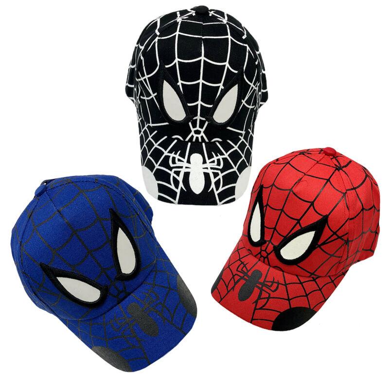 Kinder Jungen Spiderman Baseball Cap Kappe Mütze Sonnenhut Snapback Schirmmütze