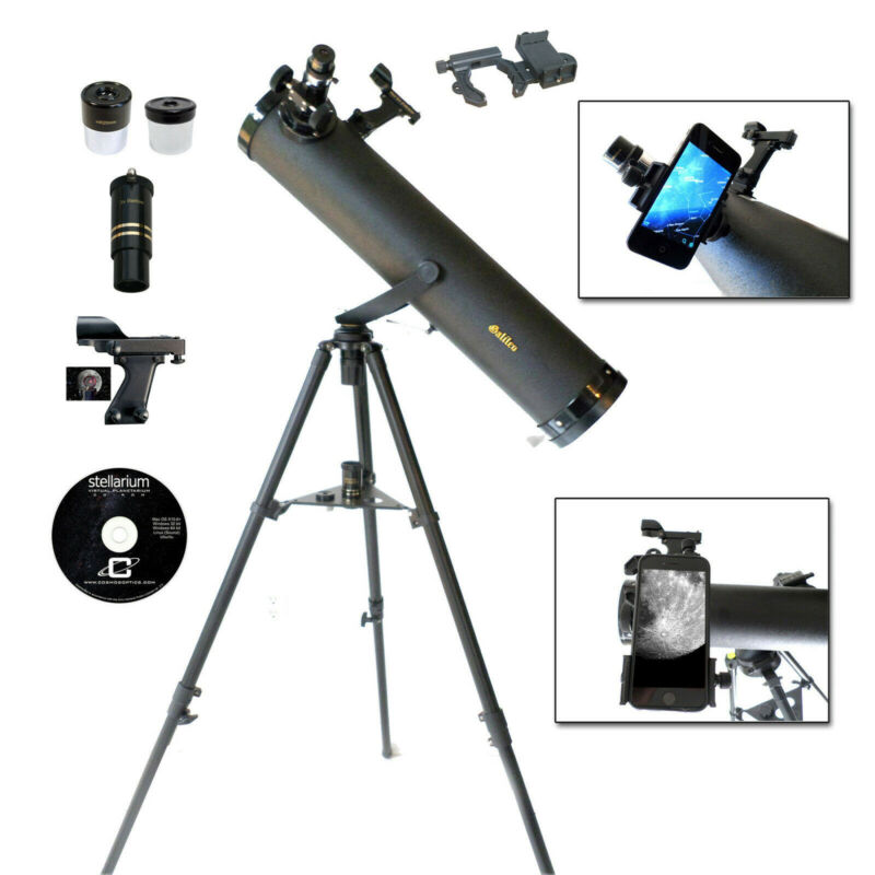 Galileo G-80095spa - 800x95 Astronomical Telescope W/smartphone Photo Adapter