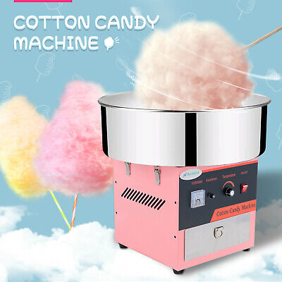 """21"""" Electric Commercial Cotton Candy Machine Sugar Floss Maker Party Carnival"""