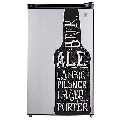 Beer Bottle Decal Sticker for Craft Brew Refrigerator Dorm F