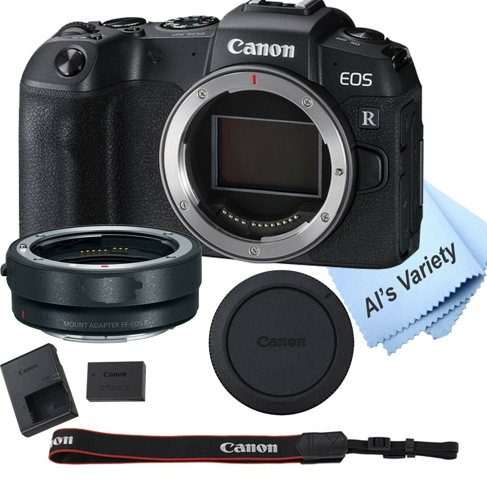 Canon EOS RP Mirrorless Digital Camera 26.2 MP + Mount Adapt