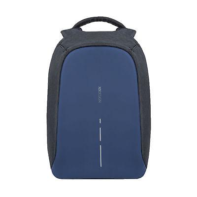 Bobby Anti-Diebstahl Rucksack blau-schwarz blau/schwarz 30 x 16,4 cm, h 45 cm