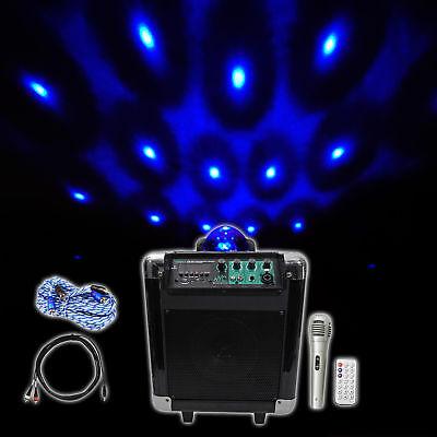 "NYC Acoustics Pro 6.5"" Karaoke Machine/System 4 ipad/iphone/Android/Laptop/TV"