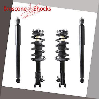 For 06 07 08 2009 2010 2011 Honda Civic Full Set Complete Shocks Struts Assembly