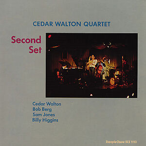 CEDAR WALTON QUARTET Second Set STEEPLECHASE RECORDS Sealed 180 Gram Vinyl LP