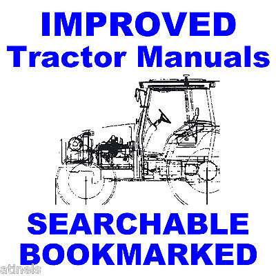 Farmall Ih Case 100 200 Tractor Service Shop Repair Manual Best Searchable Cd