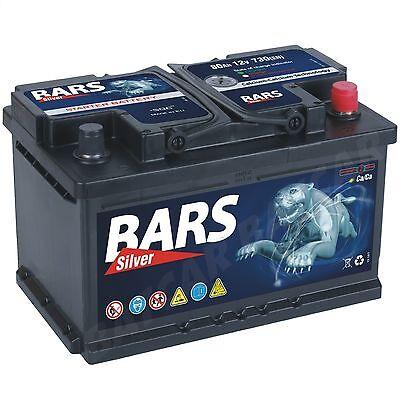 Autobatterie BARS 12V 80Ah Starterbatterie WARTUNGSFREI TOP ANGEBOT NEU online kaufen