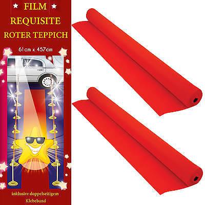 h 0,61m x 4,57m Event Läufer Film Star Oscar (Film Star Roten Teppich)