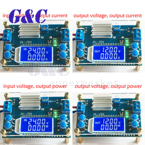 Boost/step-down constant voltage constant current battery ch