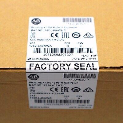 Allen Bradley Micrologix 1200 40 Point Controller Mat No 1762-l40awa Ser C Us