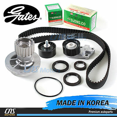 """Gates """"HTD"""" Timing Belt Kit & Water Pump for 2004-2008 Chevrolet Aveo 1.6L DOHC"""