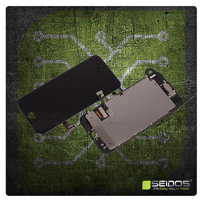 Display für iPhone 7 mit RETINA LCD Glas VORMONTIERT Komplett Front SCHWARZ NEU