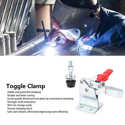 Horizontal Toggle Clamp Quick Release Cnc Machining Center Fixture Hs13005hb