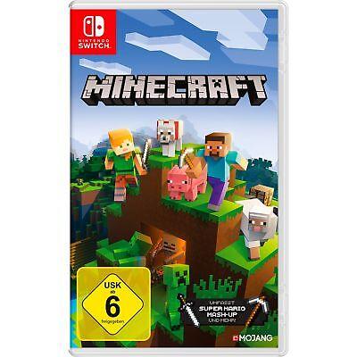 Minecraft Nintendo Switch Edition, Standard, Spiel, Aktion, Abenteuer (Minecraft Spiel Nintendo)