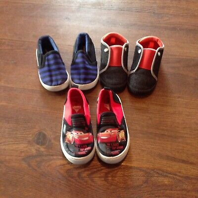 Kids Shoe Lot Of 3 Pairs Slides Shoes Toddler Size 7