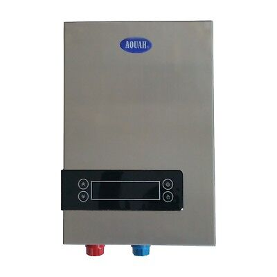 BRAND NEW AQUAH 27 KW ELECTRIC TANKLESS WATER HEATER WHOLE HOUSE