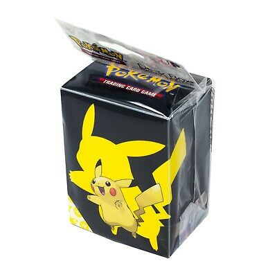 Ultra Pro Pokemon TCG 2019 Pikachu Deck Box Card Storage/Holder With Divider
