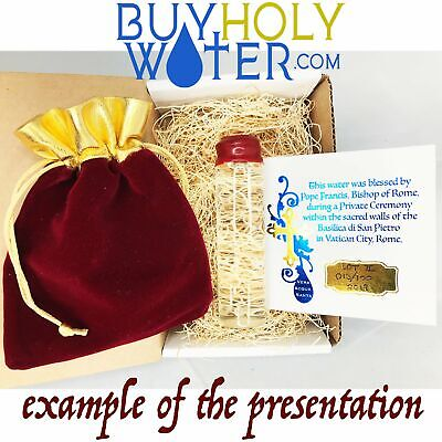 Gold Wax Spiritual Holy Water Limited 20mL Vial Hand Made Numbered To 100. - $30.99