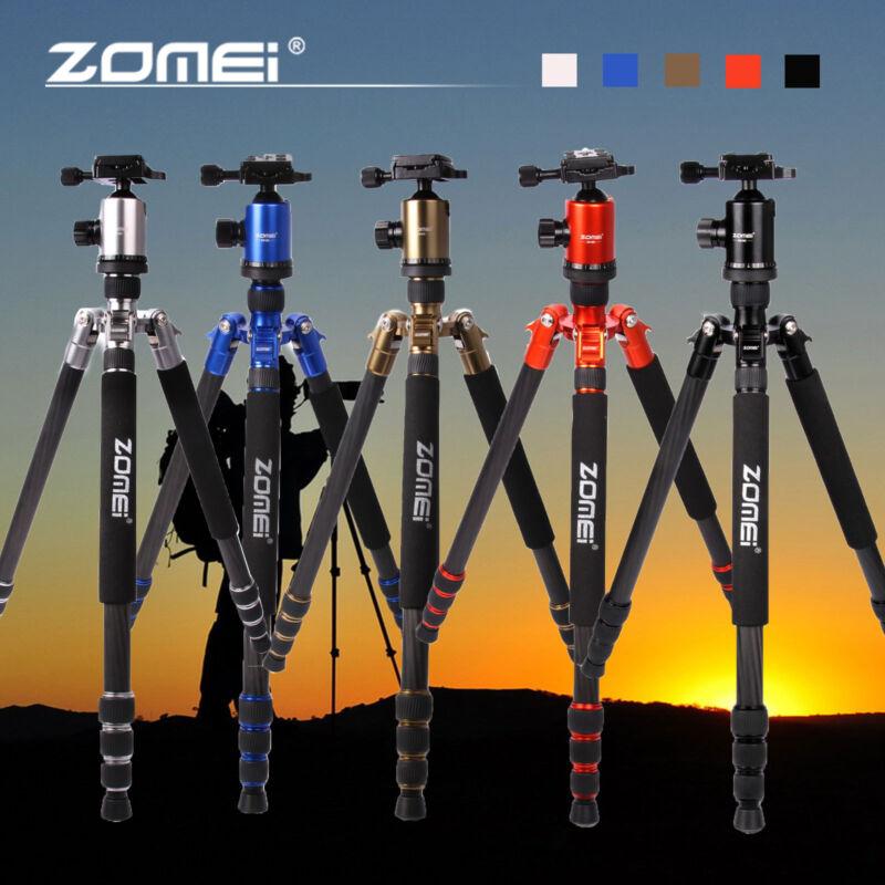 ZOMEI Z818C Carbon Fiber Tripod Monopod heavy duty light tripod for DSLR Camera