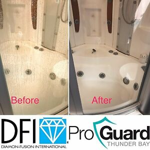 DFI Glass Shower Restoration & Protection