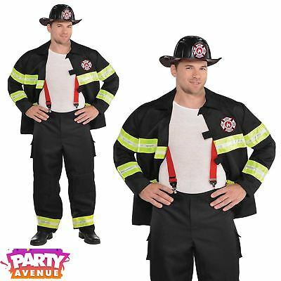 Sexy Rescue Me Fireman Costume Male Firefighter Uniform Fancy Dress Plus Size