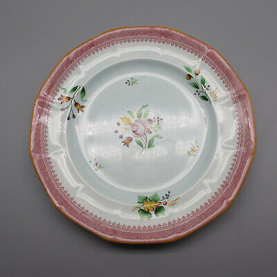 SET OF TWO - Adams China Calyx Ware LOWESTOFT Dinner Plates Adams China China Plates