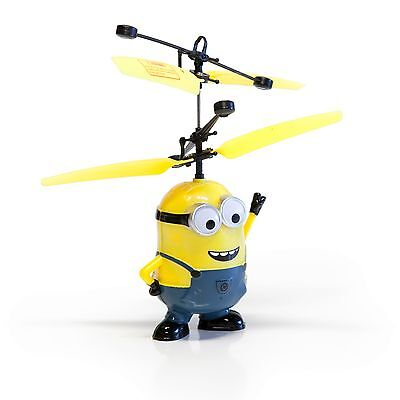 Despicable ME Male Minion Infrared RC  Remote Control Helicopter Flying Toy