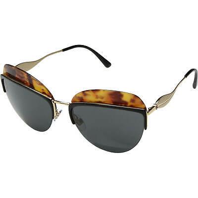 Giorgio Armani Men's 0AR6061 3021/87 Top Black/Yellow Havana/Grey Sunglasses
