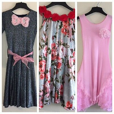 Lot Of 3 Mia Belle Couture Girls Dresses Sz 6/7 Gorgeous! - Gorgeous Girls Dresses
