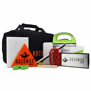 RaceWax EZ-Tune Ski Snowboard Wax Tuning Kit