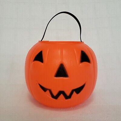 Empire Blow Mold Pumpkin Jack O Lantern Candy Bucket