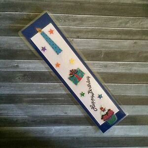 Blue Candle on Blue Birthday Bookmark Clifton Beach Cairns City Preview